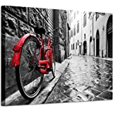 Cityscape Canvas Art Wall Decor - Copyright Licensed Image with high Resolution Definition Print on Canvas, Canvas, Wood, Tra