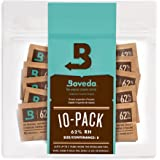 Boveda for Herbal Storage | 62% RH 2-Way Humidity Control | Size 8 Protects Up to 1 Ounce (30 Grams) Flower | Prevent Terpene