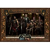 Cool Mini or Not Song of Ice and Fire Miniatures Game - Neutral Heroes Box #2 Miniatures Game, Brown