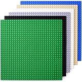 基礎板 プレート 『 25.6cm×25.6cm ・ 6色セット ・ 32×32 ポッチ 』 基礎ブロック 【G&DEKO】