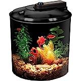 Koller Products BettaView 1.5-Gallon Aquarium 360 - LED Lighting (AP150FFP)