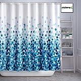 Arichomy Fabric Shower Curtain for Bathroom,Mildew Resistant/Waterproof Colorful Funny Bathroom Curtain Set with Standard Siz