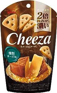 江崎グリコ 生チーズのチーザ<燻製チーズ味> 40g ×10個