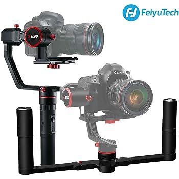 【メーカー1年保証付き】FeiyuTech a2000 3軸ハンドヘルドジンバル DSLRカメラスタビライザー 360°回転 折りたたみ式ハンドル付き Nikon/Sony/Canonその他各種カメラに対応並行輸入品 【メーカー1年保証付き】