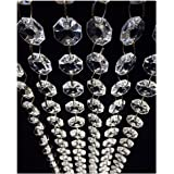 98.4FT Magnificent Crystal Acrylic Gems Bead Strands Manzanita Crystals Tree Garlands Christmas Wedding Party Celebration Dec