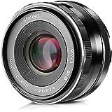 Voking 35mm f 1.7 Large Aperture Manual Focus Lens APS-C For Canon EOS EF-M Mirrorless Cameras M3 M2 M10 M5 M6 M10 M100 M200
