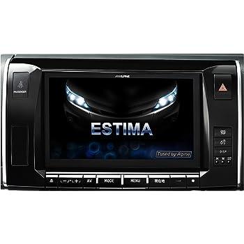 アルパイン(ALPINE) BIG X エスティマ 50系 ハイブリッド 20系 専用 カーナビ 9型 ビッグX <2018年モデル> EX9Z-ES