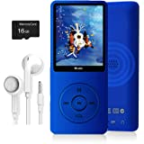 MP3 Player, Dyzeryk Music Player with 16GB Micro SD Card, Ultra Slim Music Player with Build-in Speaker, Photo Viewer, Video