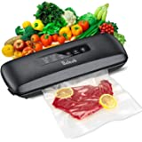 Vacuum Sealer,Beleeb Automatic Vacuum Air Sealing System for Food Preservation, Compact Design | Lab Tested | Dry & Moist Foo