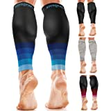 Calf Sleeves for Men & Women (20-30 mmHg) - Calf Support - Compression Calf Guards - Leg Sleeves for Torn Muscle - Shin Splin