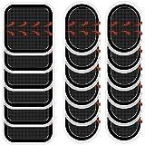 Coomatec スレンダートーン対応 EMS互換交換パッド スレンダートーン 交換パッド3枚*6セット (正面用 6枚…