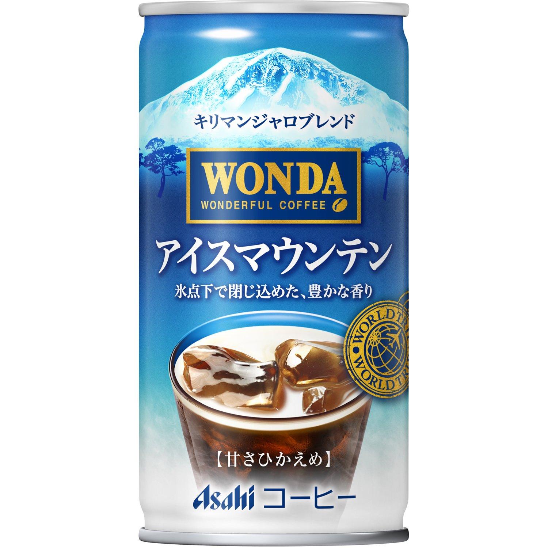 ワンダ(WONDA) ワールドトリップ アイスマウンテン 185g×30本