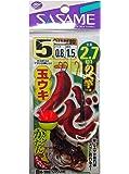 ささめ針(SASAME) H-100 ハゼ玉ウキ2.7m 5号0.8