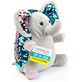 Faber-Castell CK6219 Creativity for Kids Twinkles The Elephant Mini Sequin Plush Pet