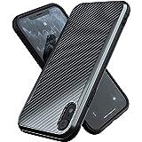 iPhone XR Case | Shockproof | 12ft. Drop Tested | Carbon Fiber Case | Wireless Charging | Lightweight | Scratch Resistant | C
