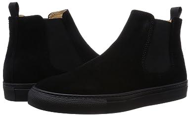 Suede Chelsea Sneaker 1331-343-6895: Black
