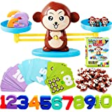 CozyBomB Monkey Balance Counting Cool Math Games - STEM Toys for 3 4 5 Year olds Cool Math Educational Kindergarten - Number