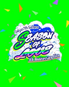 【Amazon.co.jp限定】t7s 5th Anniversary Live -SEASON OF LOVE- in Makuhari Messe [通常盤] [4BD] (Amazon.co.jp限定特典 : A3タペストリー&缶バッジ D ~57mm~ 付) [Blu-ray]