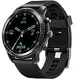 スマートウォッチ ワイヤレス充電可能 腕時計 万歩計 活動量計 歩数計 睡眠モニター smart watch 最長連続20日間使用 5ATM防水 IP68 メンズ レディース iOS&Android対応