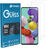 T Tersely [3-Pack] Screen Protector for Samsung Galaxy A51, (Case Friendly) Tempered Glass Film Screen Protector for Samsung