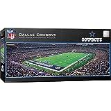 MasterPieces NFL Dallas Cowboys Stadium Panoramic Jigsaw Puzzle, 1000-Piece