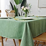maxmill Jacquard Tablecloth Swirl Design Water Resistance Antiwrinkle Oil Proof Heavy Weight Soft Table Cloth for Buffet Banq