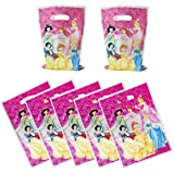 30 Packs Six princess gift bags Cute Party Gift Bags Six princess Gift Bags Party Supplies Birthday Decoration Gift Bags Well