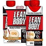 Labrada Nutrition Lean Body RTD - Hi Protein 20g Milk Shake - Vanilla Ice Cream - 4 Packs of 4x250ml (16 Shakes), 250, Vanill
