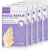 Hand Peel Mask, (5 Pack) Moisturizing Gloves,Exfoliating Hand Peeling Mask for Dry Hands, Exfoliating Hand Peeling Mask, Repa