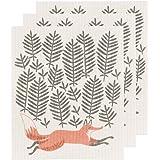 Danica Studio Swedish Dishcloths, Set of Three Hill and Dale Design