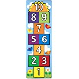 """Melissa & Doug Hop &Count Hopscotch Rug (Play Space & Room Decor, Skid-Proof Backing, 27"""" H X 5W x 5L, Frustration-Free Packa"""
