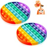 Pop Fidget Toys Pack Sensory Toy Push Popping Bubble Fidget Toys for Adults Kids, Stress Toys Autism Toys Special Needs ADHD