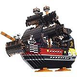 カワダ ナノブロック 海賊船 デラックスエディション NB-050