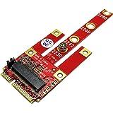 Ableconn MPEX-134B Mini PCIe Adapter with M.2 Key B Slot - Support USB/PCIe / SATA Based M2 B Key or B-M Key Module for Mini