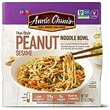 Annie Chun's Peanut Sesame Noodle Bowl, Non-GMO, Vegan, 8.7 Ounce (Pack of 6), Thai-Style