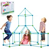 Obuby Kids Construction Fort Building Kit 120 Pieces Ultimate Forts Builder Gift Build Making Kits Toys for Boys and Girls to