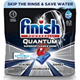 Finish Quantum Dishwasher Detergent Powerball Ultimate Clean & Shine Dishwashing Tablets Dish 82 Tabs