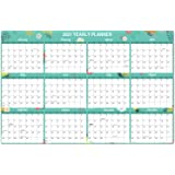 """2020 YearlyWallCalendar - 2020 Wall Calendar with Thick Paper, Pocket, 34.8"""" x 23"""", January to December 2020, Horizontal -"""