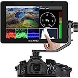Feelworld F6 Plus タッチスクリーン 液晶フィールドモニター カメラ用外部撮影モニター 3D Lut搭載 5.5インチIPS 1920X1080 HDオンカメラビデオモニター4K HDMI信号入力 カメラ撮影確認用【日本語設定&1年間