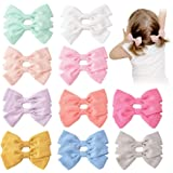20PCS Baby Girls Hair Bows Clips Hair Barrettes Accessory for Babies Infant Toddlers Kids in Pairs