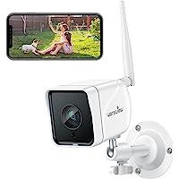 Wansview 防犯カメラ, 屋外監視カメラ,1080P 200万画素, WIFI ワイヤレス ネットワークカメラIP…