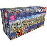 42000 Pieces Super Large Jigsaw Puzzle for Kids Adult Gift ,Travel Around The World, Colorful IQ Game Intelligent Educational