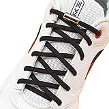 [AIJIABEI] (が2足)結ばない靴紐くつひも ゴム 伸縮性靴ひも シューレース 革靴ボードシューズ 金属カプセル 子供老人