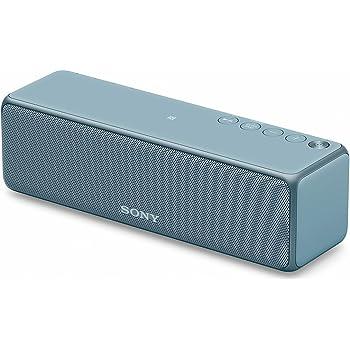 ソニー SONY ワイヤレスポータブルスピーカー SRS-HG10 : Bluetooth/Wi-Fi/LDAC/ハイレゾ/専用スマホアプリ対応 2018年モデル ムーンリットブルー SRS-HG10 L