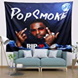Pop Hip Hop Rapper Smoke Tapestry, 3D Boutique Art Tapestries Wall Hanging trippy tapestry aesthetic Bedroom tapestry Home De