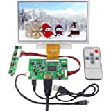 """VSDISPLAY 7"""" 7 inch 1024x600 IPS LCD Screen with HDMI Controller Board Fit for Raspberry Pi"""