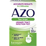 AZO Test Strips, Urinary Tract Infection Test, Accurate Results in 2 Minutes, Clinically Tested, Easy To Read Results, 3 Indi