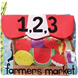Manhattan Toy Farmer's Market Soft Activity Book Baby Toy