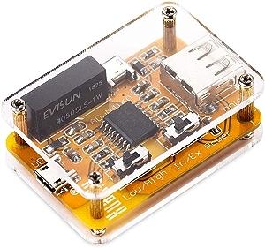 ARCELI USB to USBアイソレータモジュールオーディオノイズ除去器工業用アイソレータ保護