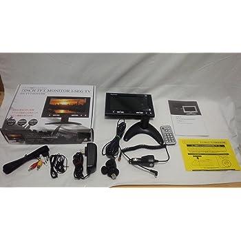 ZOX(ゾックス)7インチ液晶ワンセグテレビDS-TV70I301BK